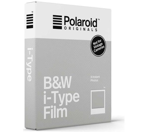 Image of POLAROID Originals i-Type B&W Film - Pack of 8