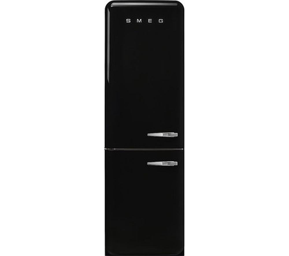 SMEG FAB32LBL3UK 60/40 Fridge Freezer - Black, Black