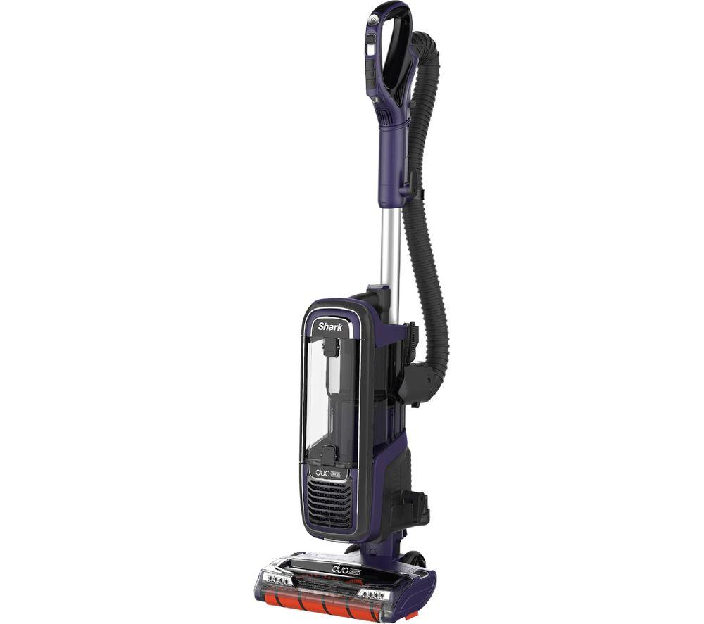 SHARK DuoClean Powered Lift-Away AX950UK Upright Bagless Vacuum Cleaner - Purple & Grey