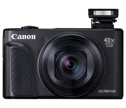 PowerShot SX740 HS Superzoom Compact Camera - Black