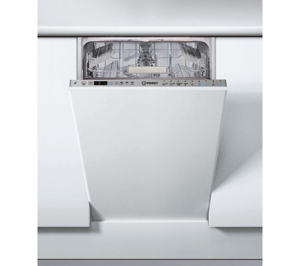 INDESIT eXtra Baby Care DSIO 3T224 E Z UK Slimline Fully Integrated Dishwasher