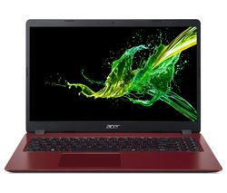 "ACER Aspire 3 A315-42 15.6"" AMD Ryzen 3 Laptop - 256 GB SSD, Red"