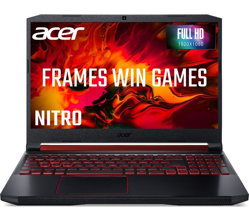 "Image of ACER Nitro 5 AN515-54 15.6"" Intel® Core™ i5 GTX 1650 Gaming Laptop - 1 TB HDD & 128 SSD"