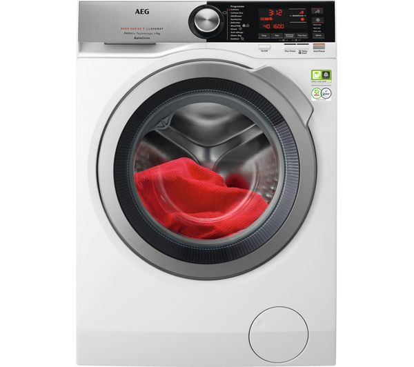Image of AEG AutoDose 8000 Series L8FEC966CA WiFi-enabled 9 kg 1600 Spin Washing Machine - White