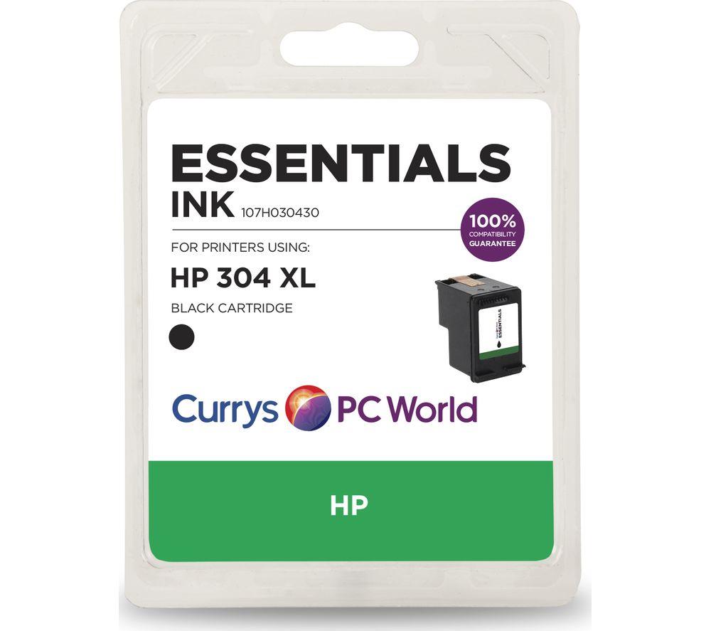 ESSENTIALS HP 304 XL Black Ink Cartridge