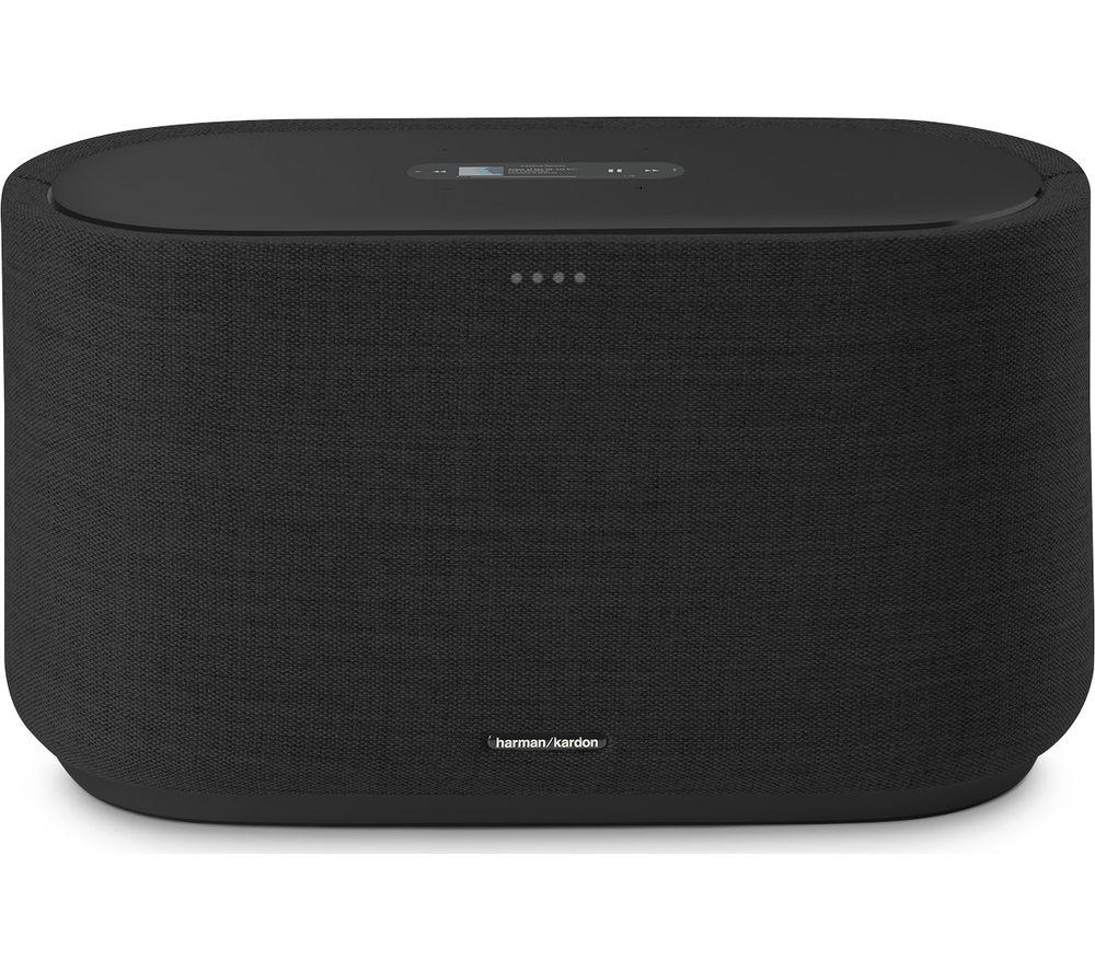 Image of HARMON KARDON Citation 500 Bluetooth Multi-room Speaker with Google Assistant - Black, Black