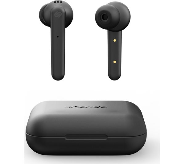 URBANISTA Paris Wireless Bluetooth Earphones - Midnight Black