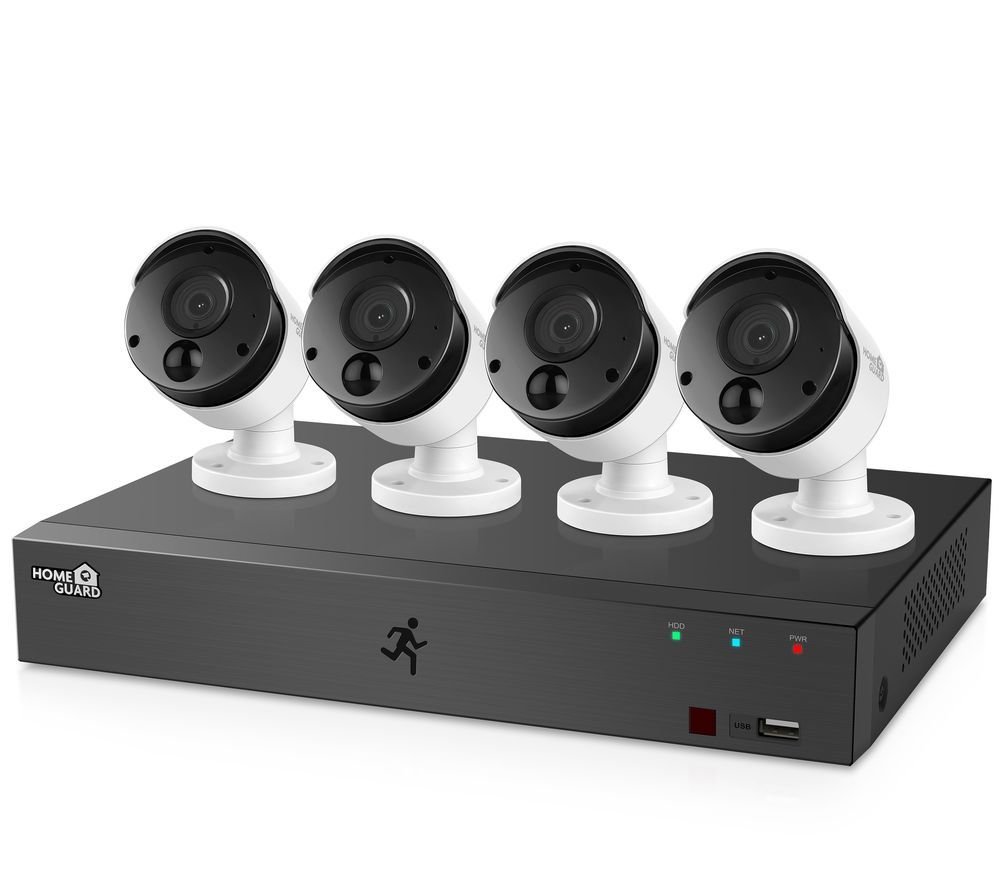 HOMEGUARD HGDVK84404-1 8-channel Full HD DVR Security System - 1 TB, 4 Cameras