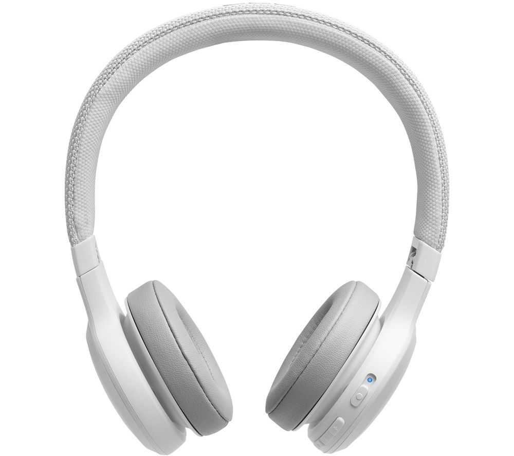 JBL Live 400BT Wireless Bluetooth Headphones - White