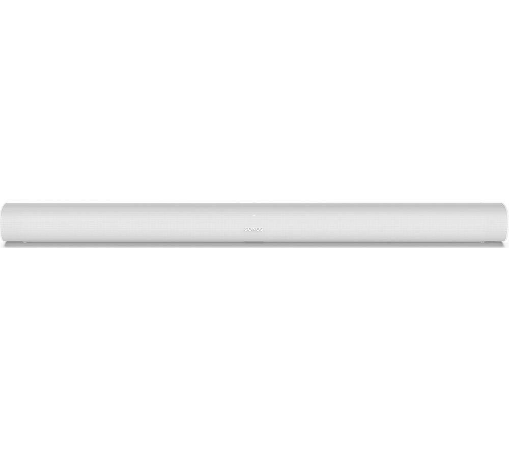 SONOS Arc Sound Bar with Dolby Atmos, Google Assistant & Amazon Alexa - White, White