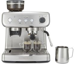 BREVILLE VCF126 Barista Max Coffee Machine - Stainless Steel Best Price, Cheapest Prices