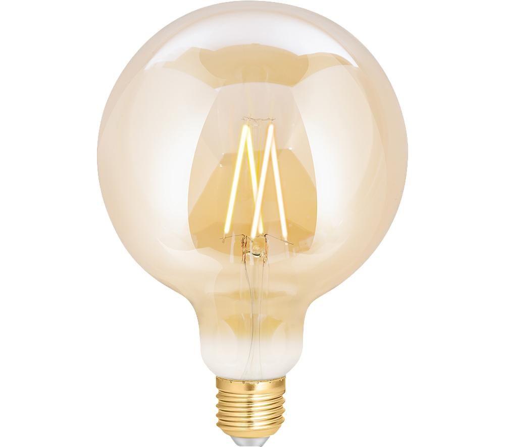 WIZ CONNEC Whites Filament Smart LED Light Bulb - E27, Warm White
