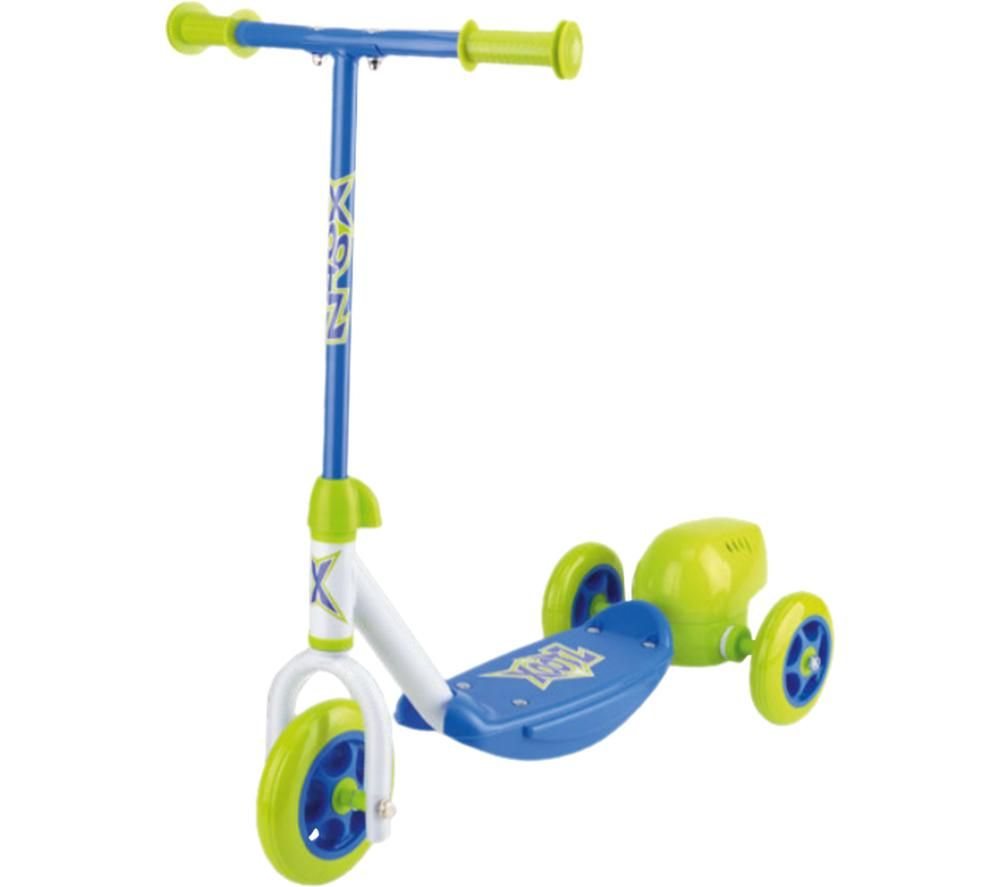 XOOTZ Bubble TY6069 Kick Scooter - Blue & Yellow