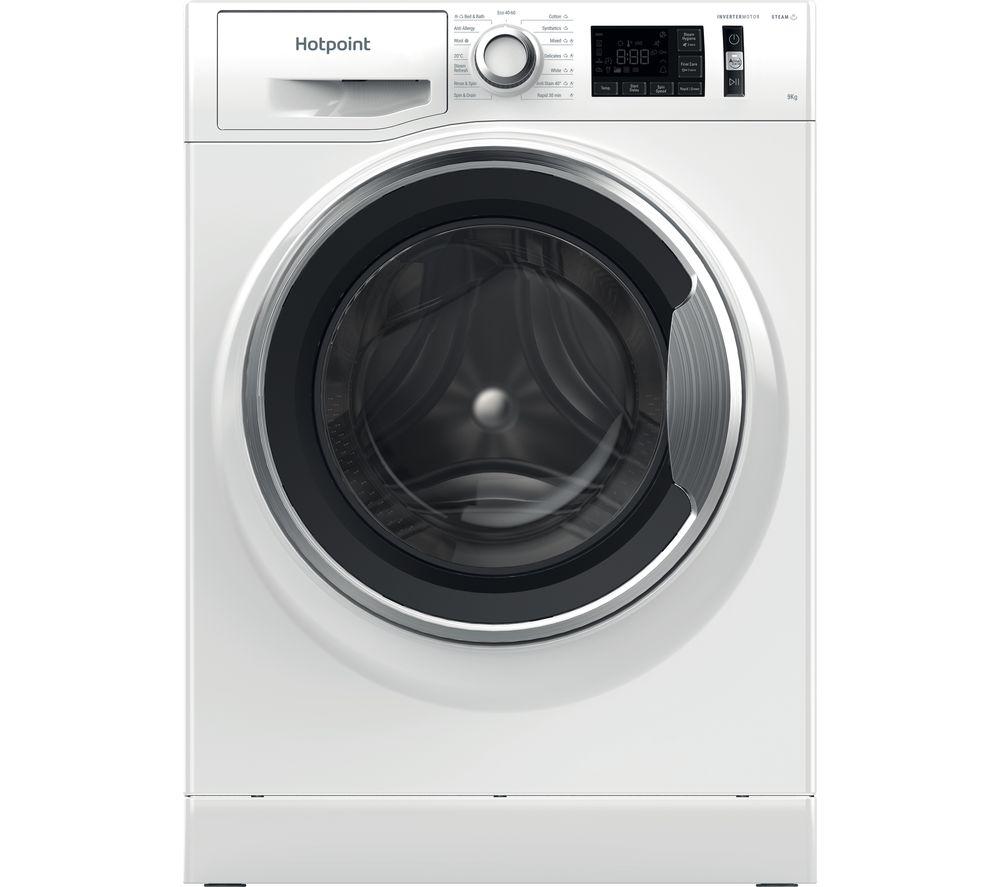 HOTPOINT Activecare NM11 964 WC UK N 9 kg 1600 Spin Washing Machine - White, White