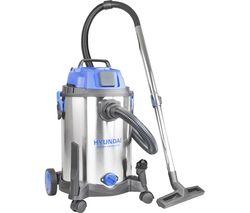 HYVI3014 Cylinder Wet & Dry Vacuum Cleaner - Silver & Blue
