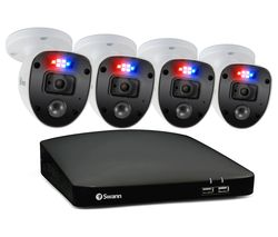 Enforcer SWDVK-84680SD4SL-EU 8-Channel Full HD 1080p DVR Security System - 32 GB microSD, 4 Cameras