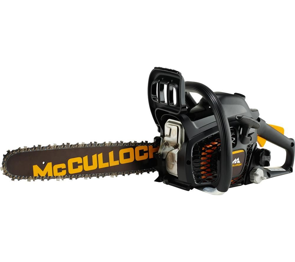 Image of MCCULLOCH CS 35S Petrol Chainsaw - Black, Petrol