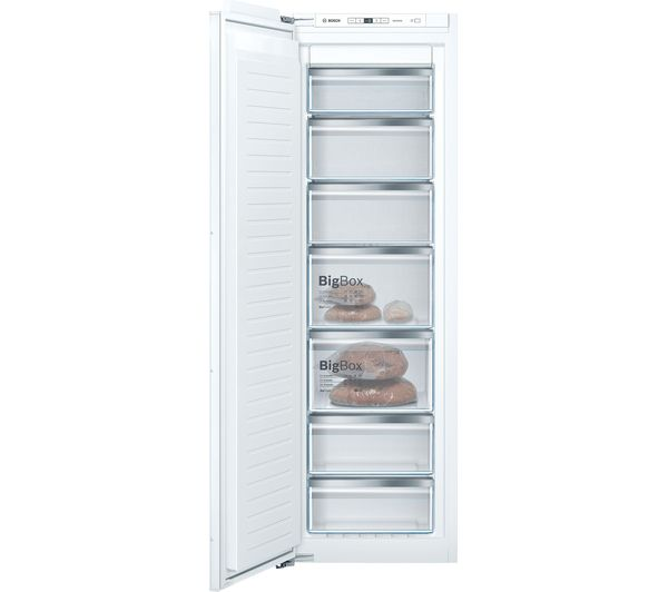 Image of BOSCH Serie 6 GIN81AEF0G Integrated Tall Freezer