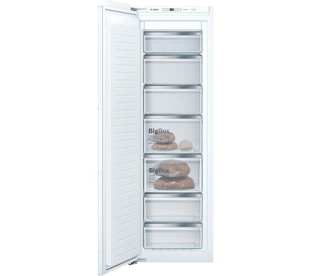 BOSCH Serie 6 GIN81AEF0G Integrated Tall Freezer