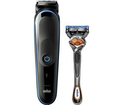 MGK5280 9-in-1 Wet & Dry Trimmer Kit - Blue & Black