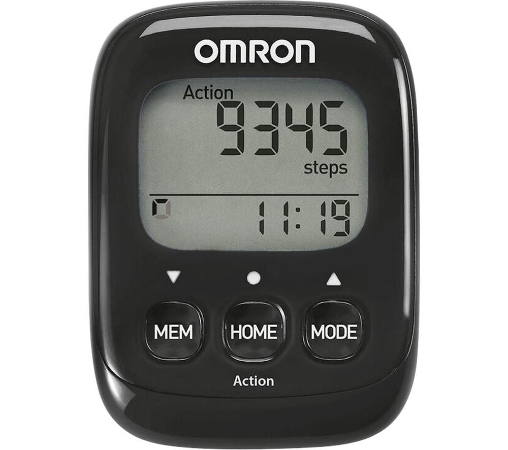 OMRON Walking Style IV Step Counter - Black