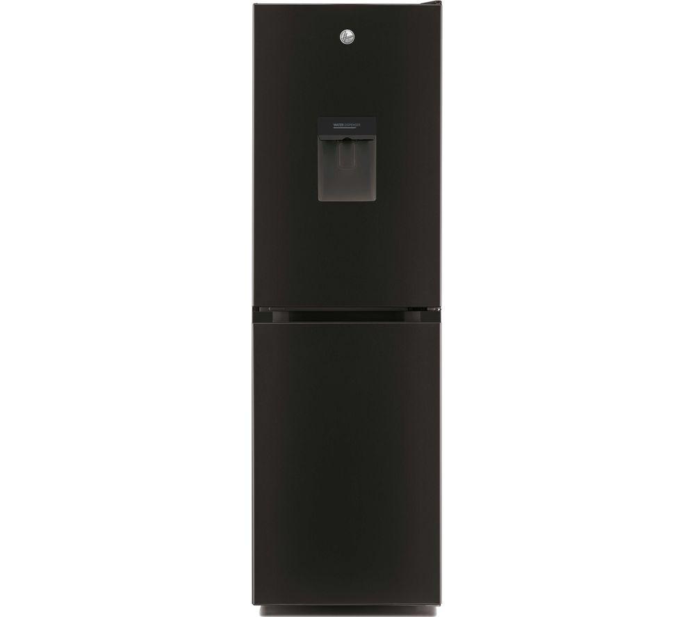 HOOVER H-Fridge 300 HMCL 5172 BWDKN 50/50 Fridge Freezer - Black, Black