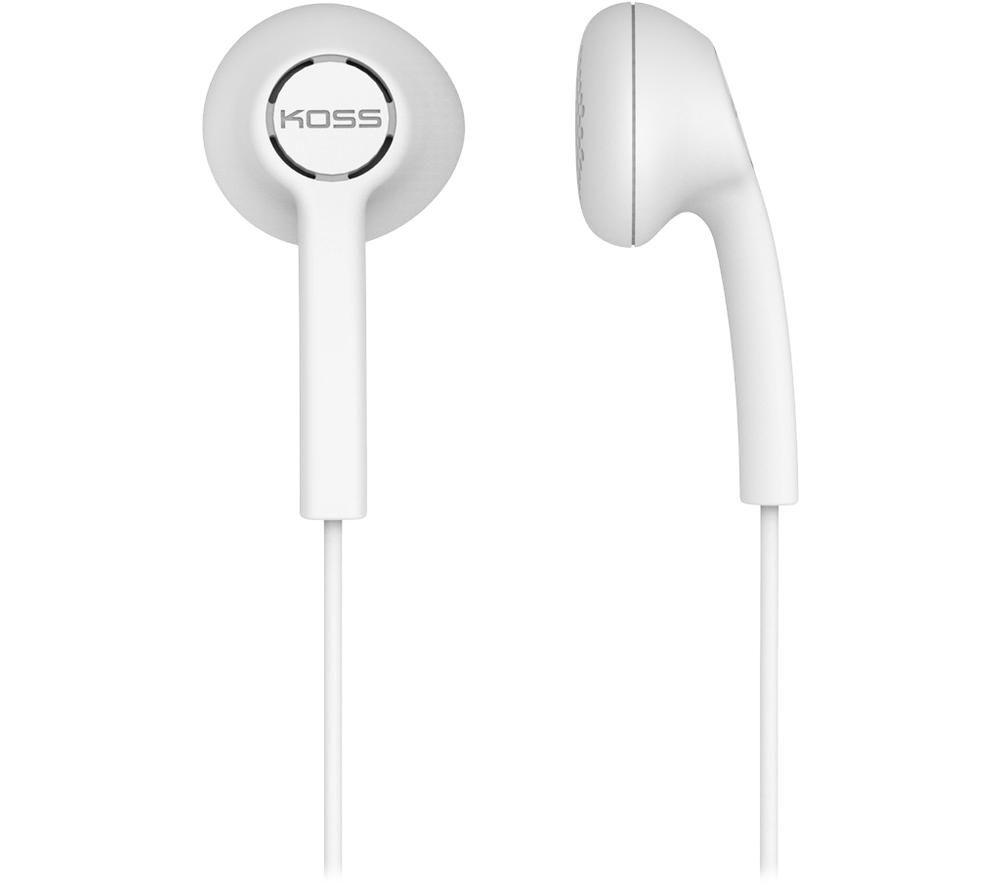 KOSS KE7 179003 Earphones - White