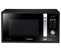 SAMSUNG MS23F301TFK/EU Solo Microwave - Black Best Price, Cheapest Prices