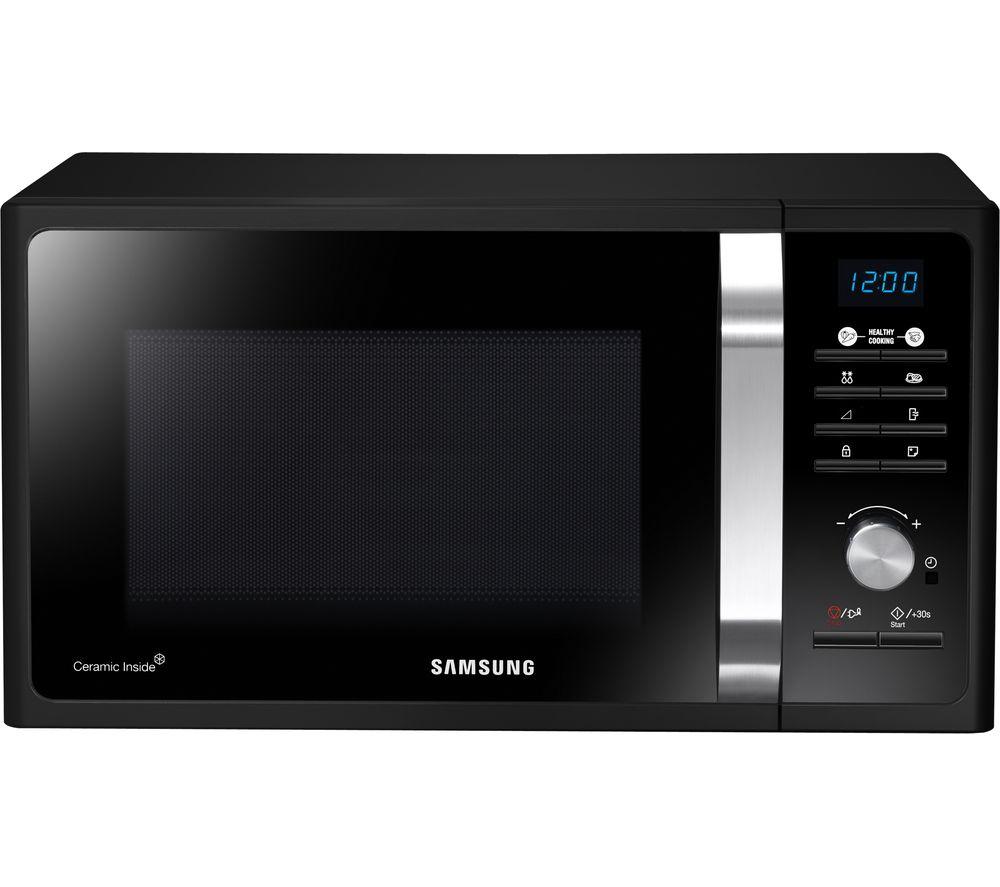 SAMSUNG MS23F301TFK/EU Solo Microwave - Black