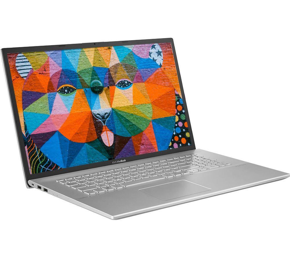 "Image of ASUS VivoBook X712FA 17.3"" Laptop - Intel®Core™ i3, 1 TB HDD & 128 GB SSD, Silver, Silver"
