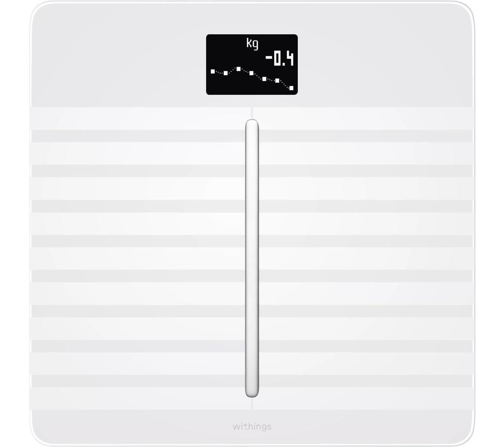 WITHINGS Body Cardio Smart Scale - White, White