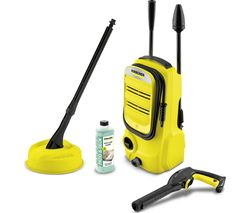 K2 Compact Home Pressure Washer - 110 bar