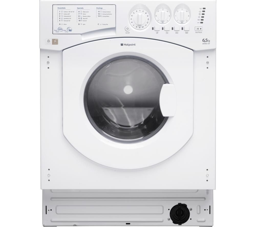 HOTPOINT Aquarius BHWD129/1 Integrated Washer Dryer
