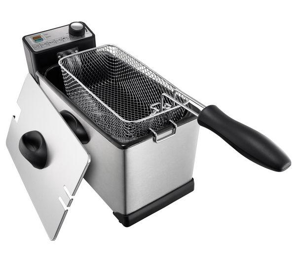 logik l30pfs12 deep fryer u2013 stainless steel