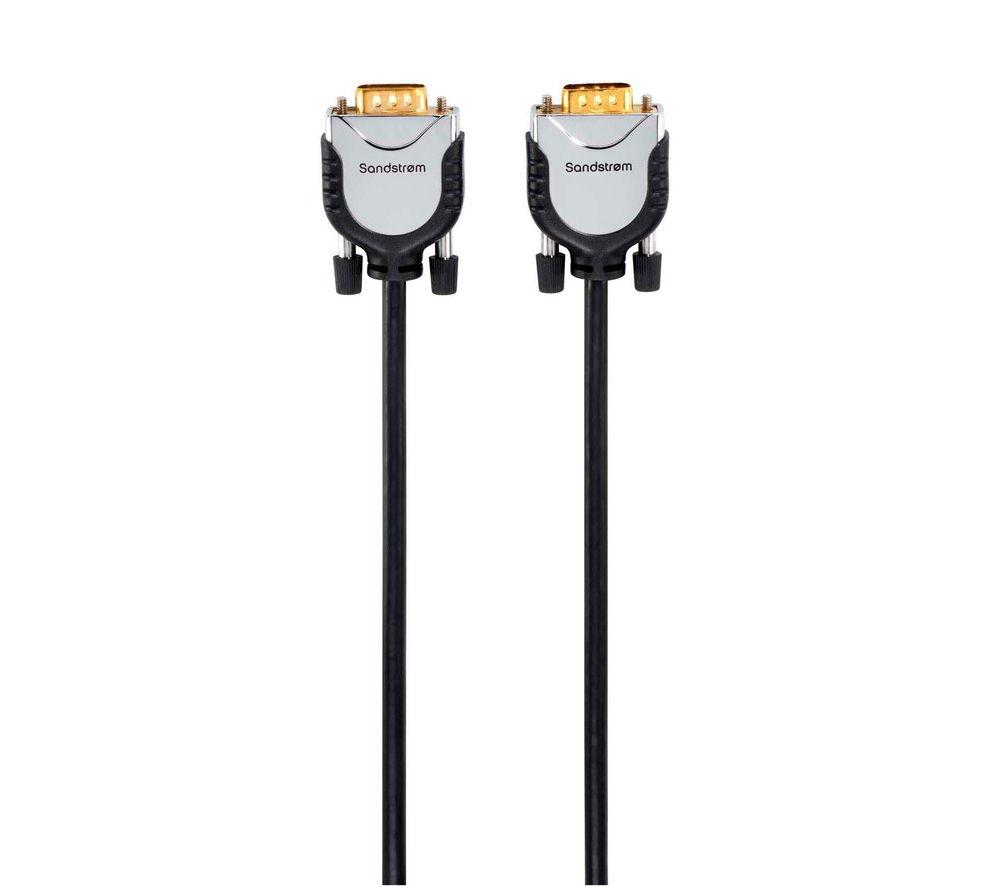 SANDSTROM SVGA18M12 SVGA Monitor Cable - 1.8m