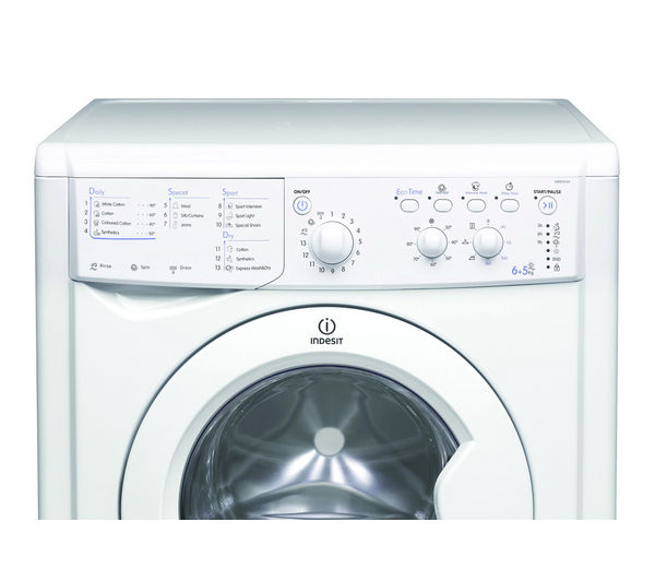 Iwdc6143 Indesit Ecotime Iwdc6143 Washer Dryer White