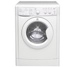 INDESIT Ecotime IWDC6143 Washer Dryer - White