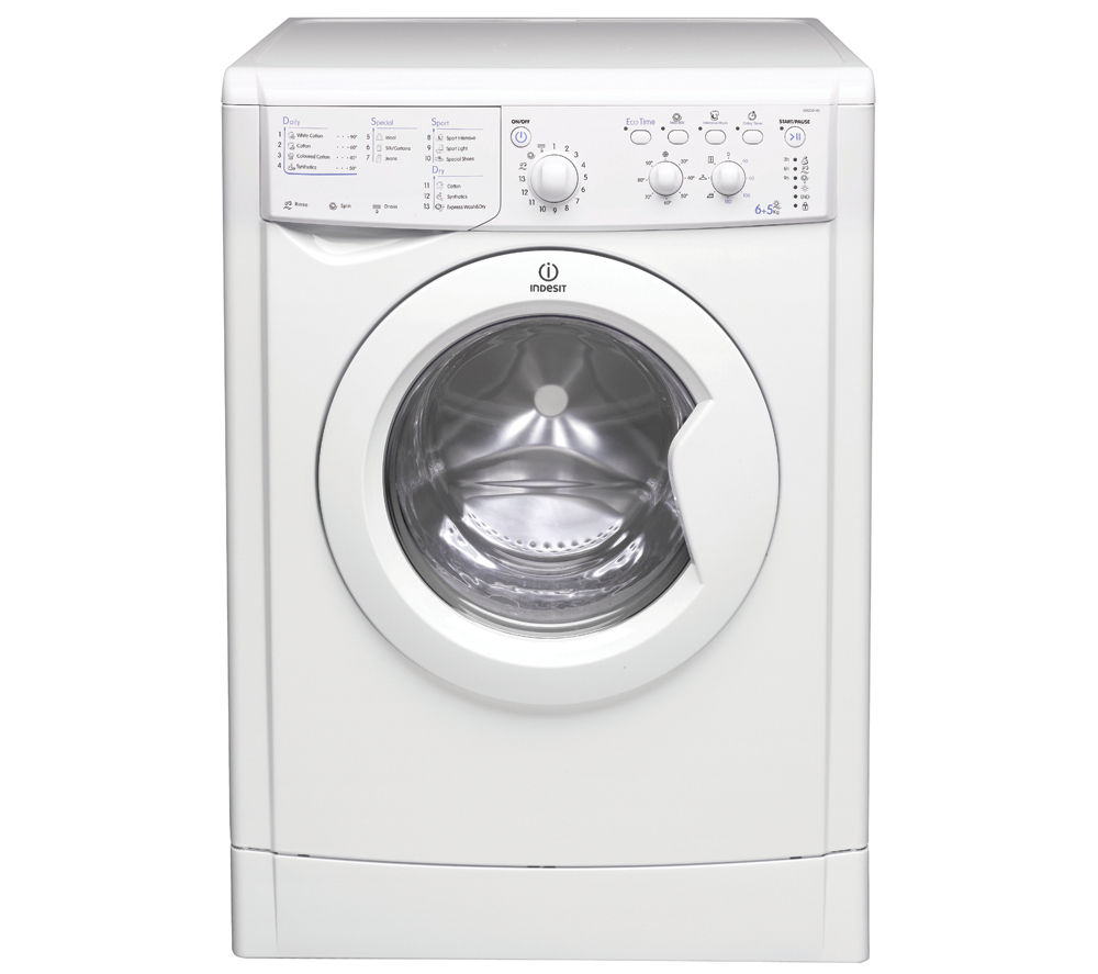 Buy indesit ecotime iwdc6143 washer dryer white free delivery indesit ecotime iwdc6143 washer dryer white buycottarizona Choice Image