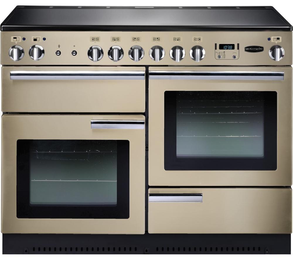 RANGEMASTER Professional+ 110 Electric Range Cooker - Cream & Chrome
