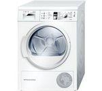 BOSCH Serie 4 WTW863S1GB Heat Pump Condenser Tumble Dryer - White