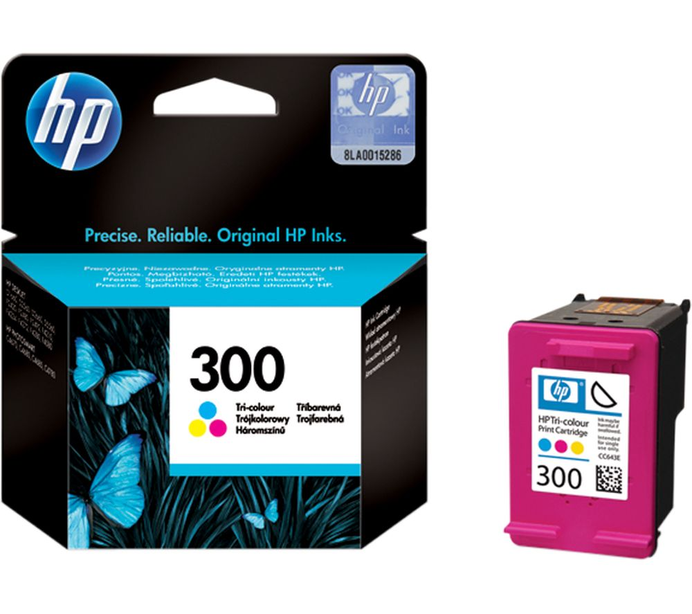 HP 300 Tri-Colour Ink Cartridge