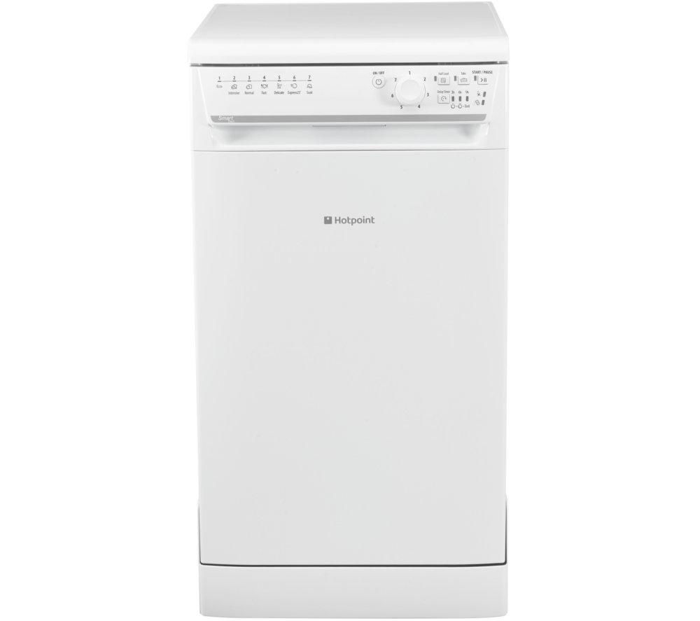 buy hotpoint sisml21011p slimline dishwasher white. Black Bedroom Furniture Sets. Home Design Ideas