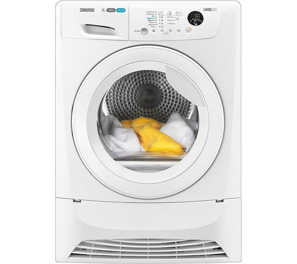 Animated Tumble Dryer ~ Buy zanussi zdc wr condenser tumble dryer white