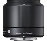 SIGMA 60 mm f/2.8 DN A Standard Prime Lens - for Micro Four Thirds