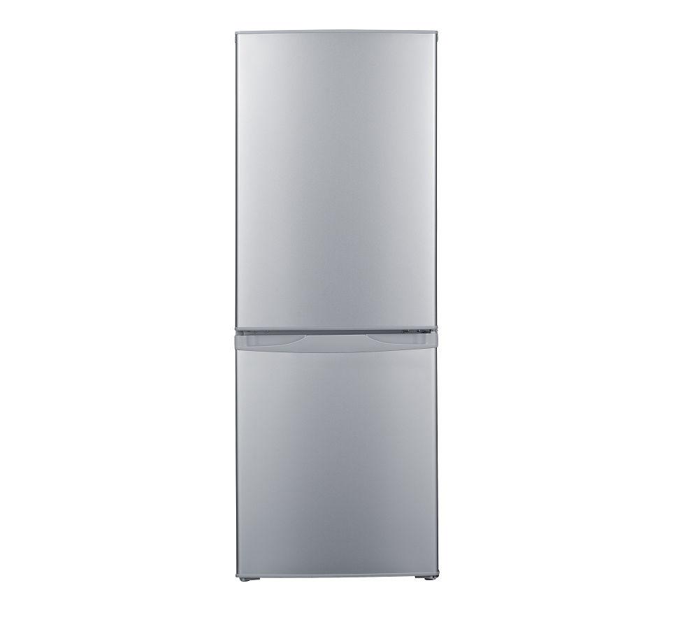 ESSENTIALS C55CS16 60/40 Fridge Freezer - Silver