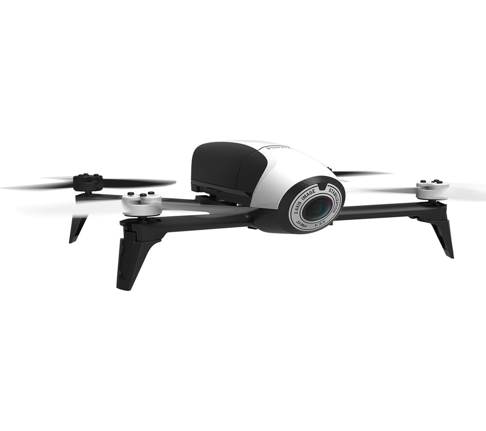 buy parrot bebop 2 drone white free delivery currys