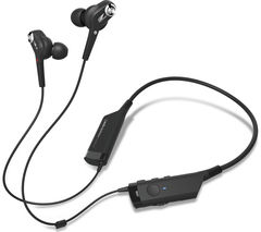 AUDIO TECHNICA ATH-ANC40BT Wireless Bluetooth Noise-Cancelling Headphones - Black