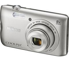 NIKON COOLPIX A300 Compact Camera - Silver