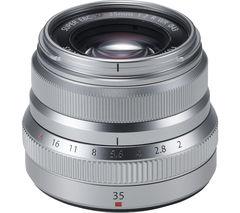 FUJIFILM Fujinon XF 35 mm f/2 R WR Standard Prime Lens