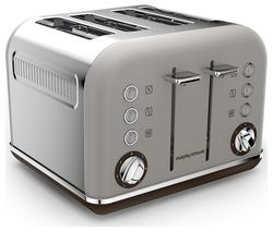 MORPHY RICHARDS Special Edition Accents 242102 4-Slice Toaster - Pebble